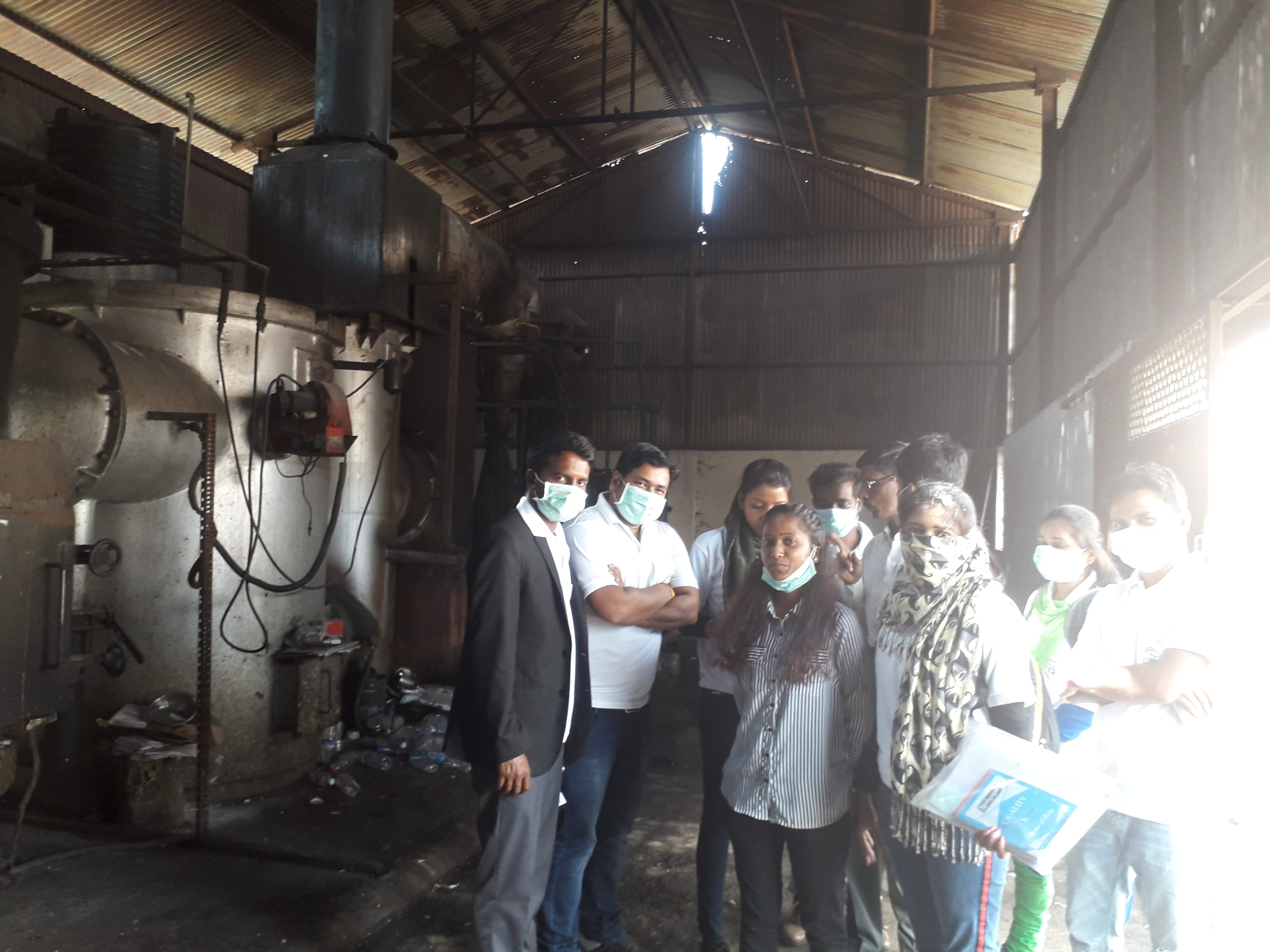 Tour & Exposer Visit on Waste Management